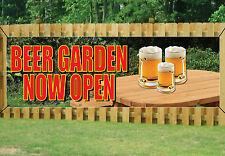 Beer Garden ora aperto PUB Banner segno All'Aperto Impermeabile in PVC con occhielli