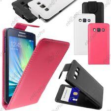 Accessoire Housse Etui Coque a Rabat Flip Simili Cuir Samsung Galaxy A3 SM-A300F