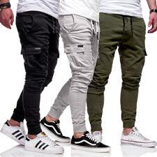 BEHYPE Chinohose Jogger Chino Cargo Hose Jogginghose Jogg Beige/Khaki/Grau Jeans