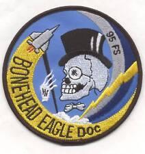 95th F-15 BONEHEAD EAGLE DOC patch