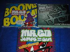 lot 3 CD maxi MR.ED die krupps remix JUMPS THE GUN wild