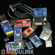 USB UART Seriell TTL div. Konverter FTDI RS232 RL CP2102 PL2303 HX CH340 Arduino