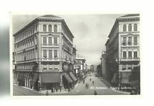 vecchia cartolina formato piccolo padova piazza garibaldi  spedita nel 1942