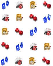 Gambling Waterslide Nail Decals / Nail Art