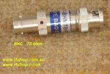 Attenuatore coassiale a microonde, BNC 75 ohm, 1ghz, 1db, 3db, 6db, 10db, 20db, 30db