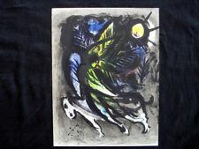 Marc Chagall L'Ange M.288 vintage original Lithograph inv964