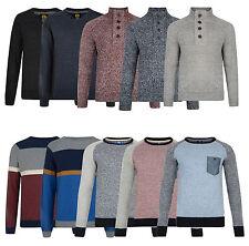 Smith & Jones Nueva Para Hombre Knit Pullover Jumper Sweater Top S M L Xl Xxl