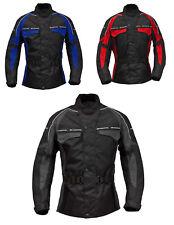"Roleff Racewear ""RENO"" - lange Textil Motorradjacke mit Protektoren & Belüftung"