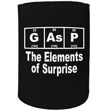 Stubby Holder - Gasp Element - Funny Novelty Birthday Gift Joke Beer Can Bottle
