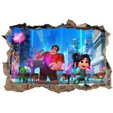 Stickers 3D  Le monde de Ralph réf 52460