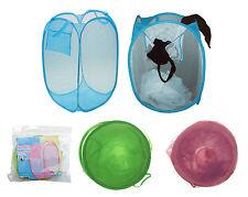 Foldable Laundry Bag Net Storage Net Kids Storage Net Pop Up Laundry Bag
