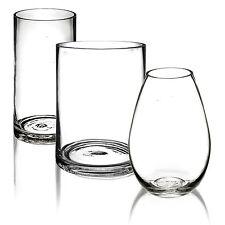 20 cm vase en verre Table Pièce Centrale Décoration Fleur Affichage Floral Decor Bol
