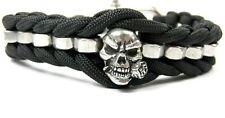 Paracord Armband-Original Skull-Totenkopf Armband-Biker-Schäkel-Freie Scelta