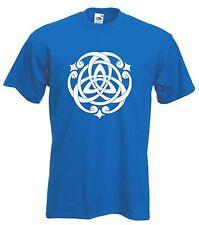 Nudo Celta T-Shirt-Druida Wicca Pagano GOTH GOTHIC-Elección de Colores Libre P&P