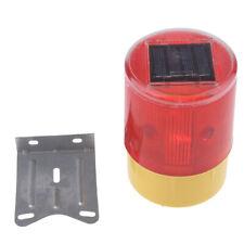 LED Solar Strobe Warning Caution Light Traffic Beacon Lamp