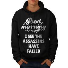 Wellcoda  Mens Hoodie, Assasins Casual Hooded Sweatshirt