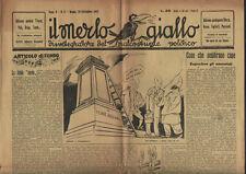 IL MERLO GIALLO n. 77 (1947) Depredare gli amnistiati