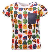 0325S maglia bimbo FENDI LAMPADE multicolor t-shirt kid
