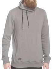 Ragwear Hooker grey melange Organic vegan streetwear Hoody Sweater Uomo Mens