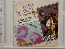 HENRY SALOMON Temas de Amor: SANDPIPER / ORFEO NEGRO BELTER 08212 ESPAGNE