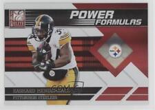 2011 Donruss Elite Power Formulas Red #21 Rashard Mendenhall Pittsburgh Steelers