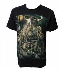 Wikinger T-Shirt Nordisch Fantasy Metal Goth