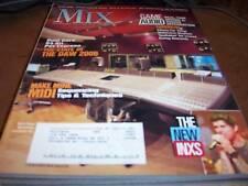 MIX Audio/Music Magazine March 2006 The New INXS