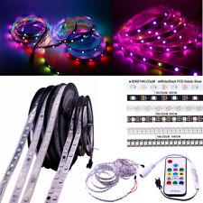 30/60/144 LEDs/M 5050 RGB Strip Light  5V WS2812/12V WS2811 IC Lamp / RF Remote