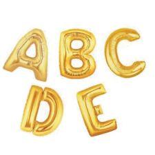 "40 ""GOLD SUPERSHAPE Foil Balloon Lettera A-Z"