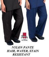 PANTS NYLON GROOMER Barber STYLIST Grooming Hair,Water&Stain Resistant TROUSERS