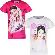 Disney Violetta T-Shirt Kurzarm Gr. 110, 116, 122, 128, 134, 140, 146, 152, NEU