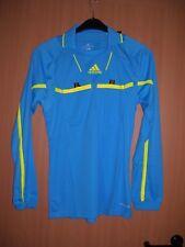 adidas Herren Schiedsrichter Trikot Referee Shirt blau Langarm S L XL neu