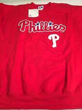 PHILADELPHIA PHILLIES MAJESTIC MLB SWEATSHIRT FREE SHIPPING