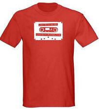 Joy Division Tape Mens Red T Shirt S - 5XL Unknown Pleasures Retro Post Punk tee