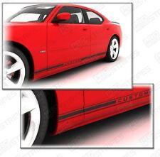 Dodge Charger 2006-2010 Rocker Panel Strobe Side Stripes Decals (Choose Color)