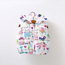 winter baby girls  vest  Graffiti Waistcoats children's clothing  1037