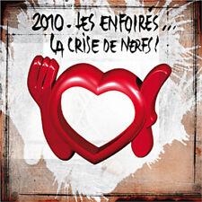 198 // 2010 LES ENFOIRES LA CRISE DE NERF DOUBLE CD EN TBE