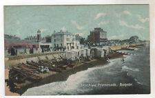 Bathing Machines - Bognor Photo Postcard c1905