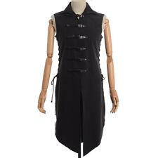 Medieval Costume Men Vintage Renaissance Knight Solider Armor Sleeveless Vest