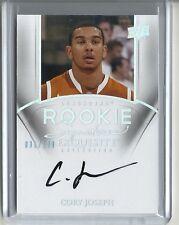 2011-12 Upper Deck Exquisite Rookie Card Autograph # 82 CORY JOSEPH  #31 /199