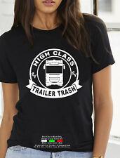 RV High Class Trailer Trash Round Camping Travel Car Jeep women T shirt Tank Top