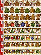 Fensterbild Fensterdeko Wandbild Weihnachten Advent Fenstersticker Sticker