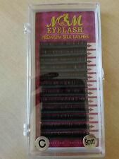 Premium Silk Lashes C Curl 0,07 Seidenwimpern Wimpernverlängerung 8 mm Wimpern
