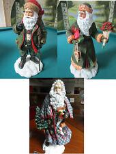 Pipka Memories Of Christmas SANTA SCULPTURE TYROLEAN DOMSETIA UKRANIAN NIBPICK 1