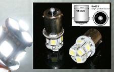 2 lampadine a LED smd Luci di POSIZIONE / Fari notte xeno bianco BA15s R5W
