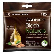 Garnier Black Naturals Shade 4 (20ml + 20g)(Natural Brown)