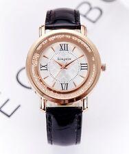 Faux Leather Luxury Vintage Women's Watch Analog Quartz Dress Wrist Watches