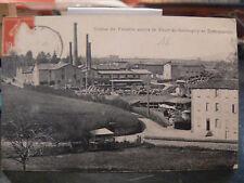 cpa 69 la tour de salvagny dommartin usine de poterie