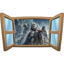 Sticker enfant fenêtre Thor réf 985 985