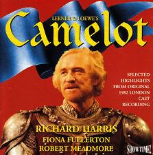 Camelot-1982-Highlights-Original London Cast-CD